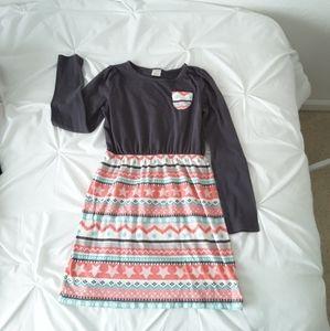 3/$20 - Girl's Sweater Print Dress